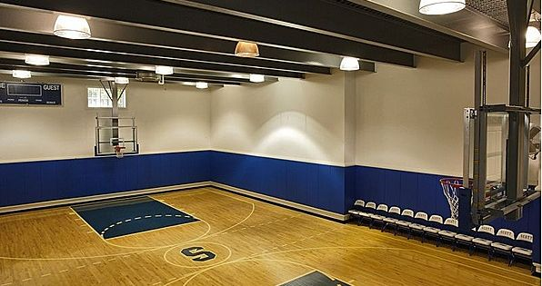 Can 39 t find your man may want to check the indoor for Buy indoor basketball court