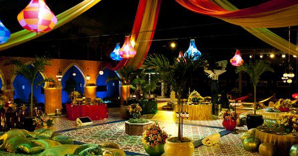 fiesta árabe grande