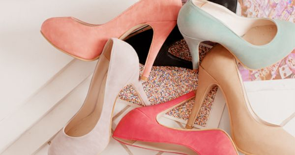 Love them all! | Heels, Pastel shoes, Shoes