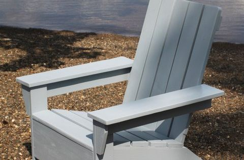 Ana white build a ana 39 s adirondack chair free and easy - Fauteuil en bois de palette ...