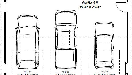 Garage dimensions google search andrew garage pinterest garage plans car garage and - Dimension garage 2 places ...