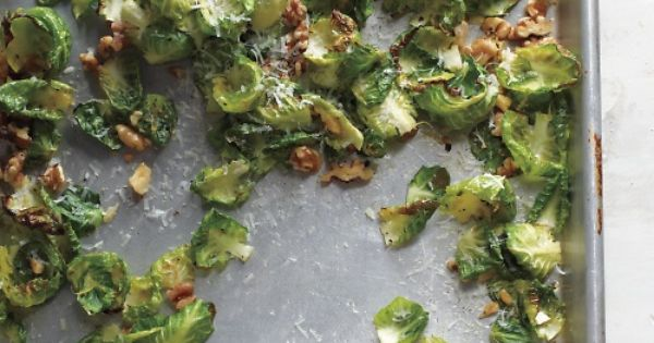 Yet another roasted brussels sprout variation! These Crisp Brussels Sprout Leaves might
