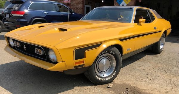 My Stock 71 Spring Special 36000 Miles With One Repaint Mustang