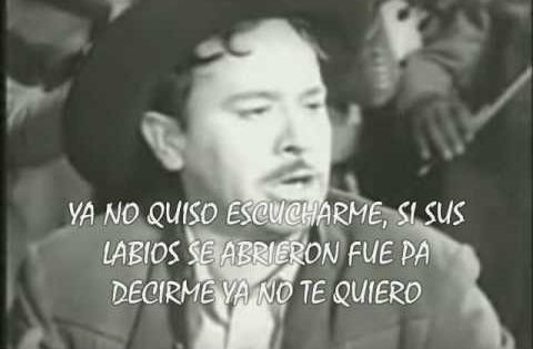 Me Canse De Rogarle Pedro Infante Con Letra Me Canse De Rogarle Yes Yes Pedro Infante Me Canse De Rogarle Infante
