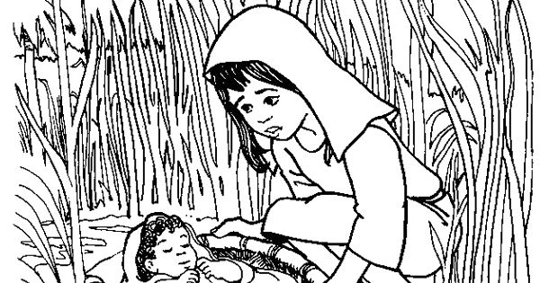 What S In The Bible Moses Coloring Pages