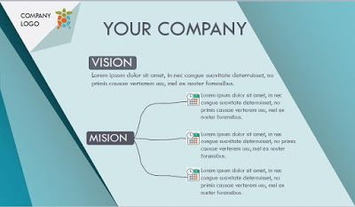 Simple Company Profile Powerpoint Template Free Download Desain
