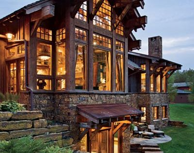 love modern wood cabins -- future lake house
