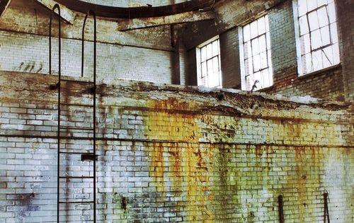 Abandoned factory. Mahanoy City, Pennsylvania.