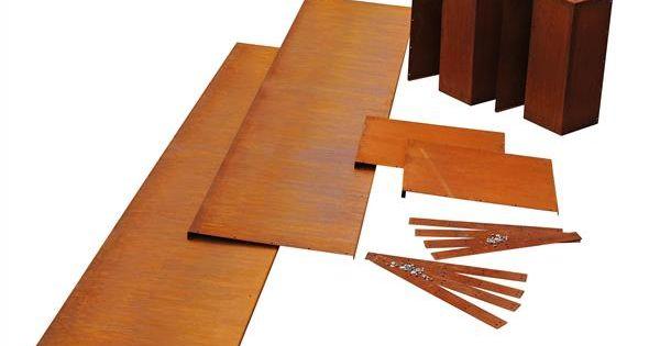 hochbeet k580 als bausatz cortenstahl hochbeete ums manufaktur beete cortenstahl. Black Bedroom Furniture Sets. Home Design Ideas