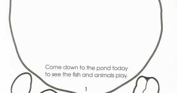 the letter song squish preschool ideas pond animal 49260