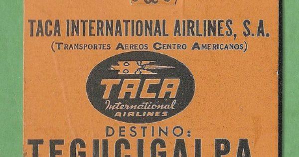 Taca international airlines tegucigalpa honduras for Club piscine hunt club