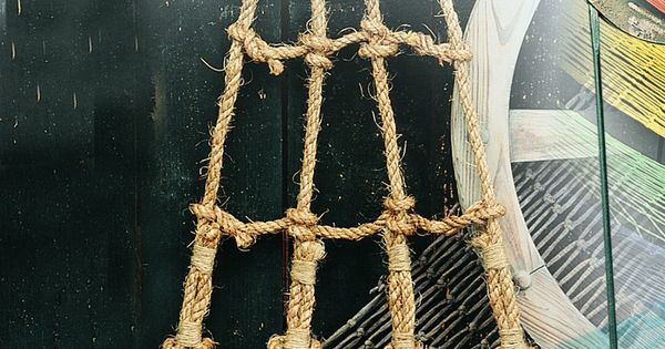 Nautical decorative rope ladder 12141 pirates bedroom for Rope designs and more