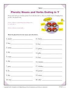 47+ Spelling worksheets that end in y Top