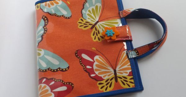 Jw Little Girls Field Service Organizer-Orange Butterfly | Little