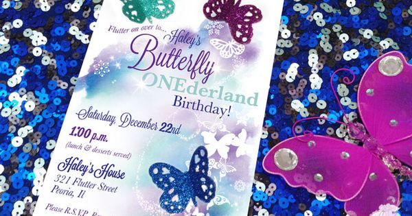 Butterfly Invitations Birthday was awesome invitations sample