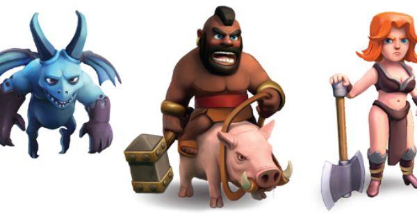 Hog rider | clash of clans | Pinterest
