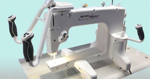 Mid Arm Quilter Block Rockit Quiltpro 14 Machine