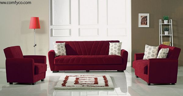 Living Rooms With Bugundy Sofas Burgundy Microfiber Living Room Set By Meyan Furniture