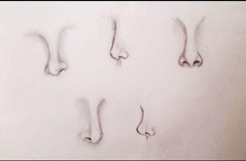 تعليم رسم الانف تعليم رسم للمبتدئين رسم الانف بأشكال مختلفة Youtube Body Art Painting Drawing People Body Art
