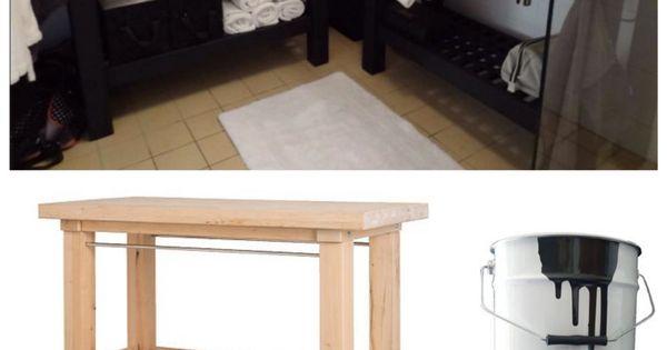 une salle de bain ikea hacks oasis amour et id es. Black Bedroom Furniture Sets. Home Design Ideas