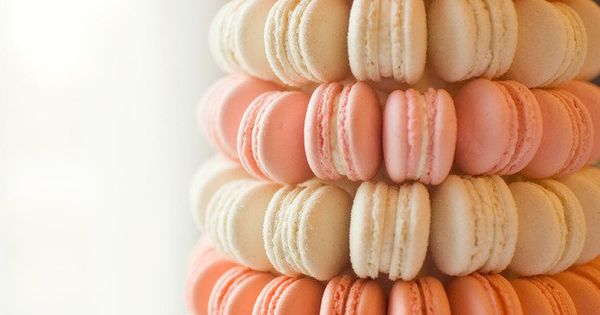 macaroon tower vs. wedding cake?!