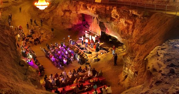 Bluegrass Underground - The Volcano Room at the Cumberland Caverns in McMinnville
