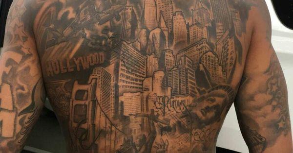 Front And Back Tattoos Pinterest Nu Est Jr Back