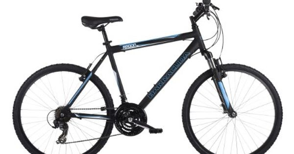 Barracudaradon Mens Mountain Bike Black 20 Inch Alloy Frame 21