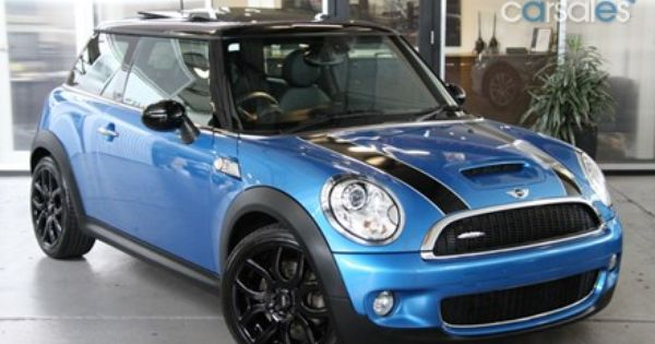 Used Mini Coopers >> 2007 MINI Cooper R56 S Chilli. Blue with black stripes | Mini everything | Pinterest | 2007 mini ...