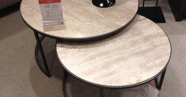 Macy S Monterey Round Nesting Table 500 Living Room Pinterest Rounding Large Coffee Tables And Coffee