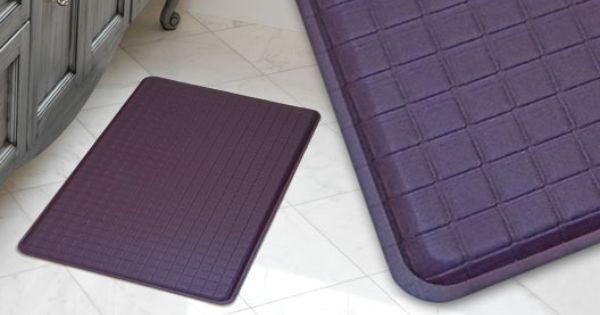 Gelpro Trellis Plum Gel Mats Gel Filled Comfort Floor Mats And Kitchen Mats Anti Fatigue Kitchen Mats Plush Mat Comfort Mats