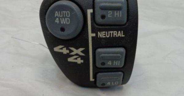 Chevy Gmc Dash 4x4 Switch 15708958 4 Button Oem Blazer Jimmy S10