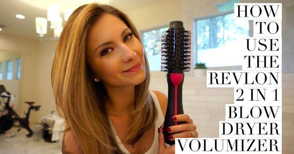 Hair Tutorial How To Use Revlon 2 In 1 Blow Dryer Volumizer Youtube Hair Dryer Brush Revlon Hair Dryer Brush Hair Tutorial