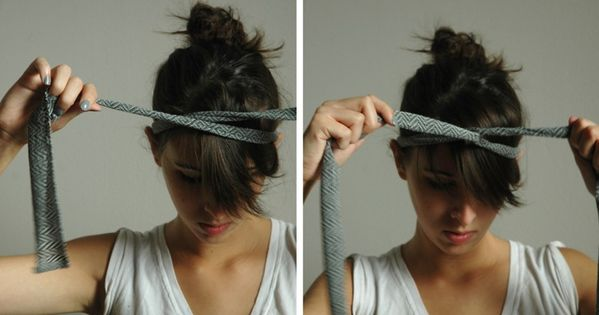 DIY Headbands- I love this one. You could up-cycle tights or an