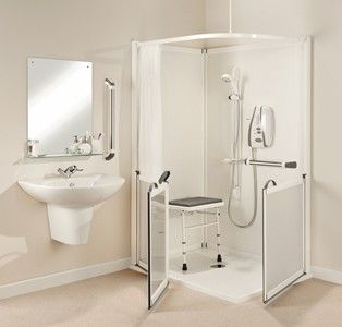 Walk In Showers For The Elderly Small Bathroom Shower Stall