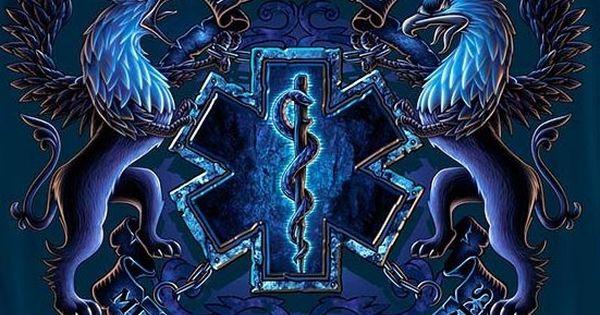 Tattoo Design Bild: Emt Blue Star Of Life Ems Pinterest