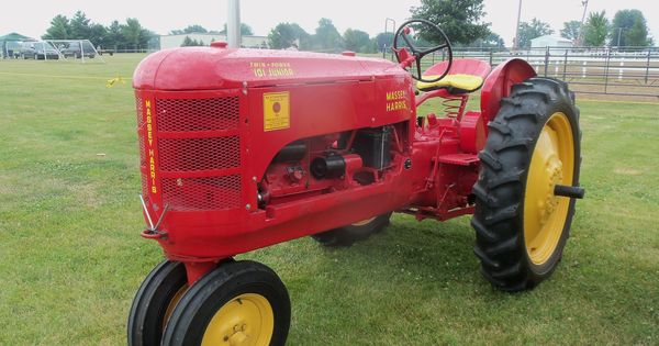 Junior Pedal Tractors Antique : Saw this at the carroll county fair massey harris