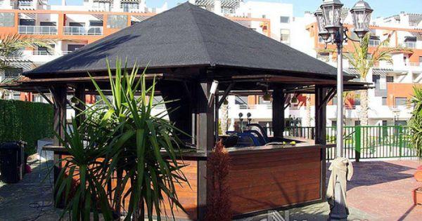 Chiringuitos casetas y kioscos de madera www for Casetas para patios
