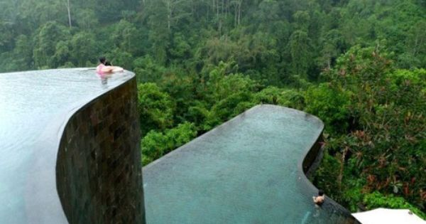 Hanging Garden Hotel Pools, Bali, Indonesia