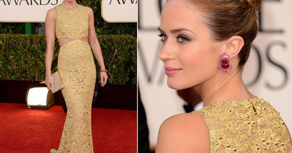 emily blunt (and her gorgeous michael kors dress)