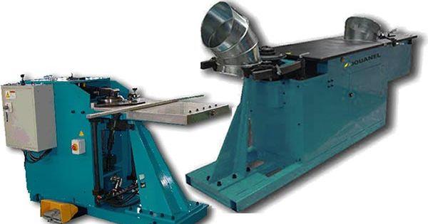 Jouanel Machines Pour Le Batiment Et L Industrie Bordeuse Agrafeuse De Coude A Segment Batiment Gaine De Ventilation Menuiserie Aluminium