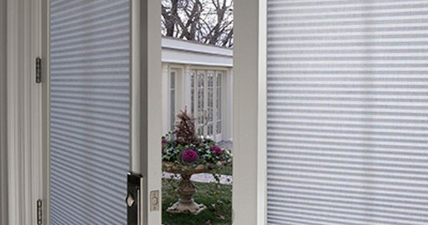Looking for a shade for your french doors our french door for Looking for french doors