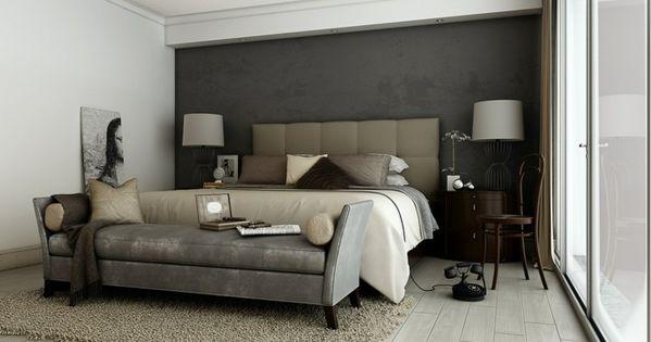 Schlafzimmer Gestalten Farbe Grau - Google-suche | Bedroom ... Schlafzimmer Gestalten Grau