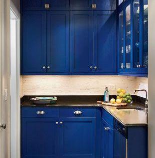 Cobalt Blue Kitchen Cabinets Blue Kitchens Dream