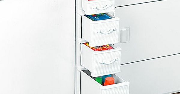 Laundry Storage In Between Washer Dryer Shelf With