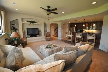 Raised Ranch Basement Design Ideas Pictures Remodel And