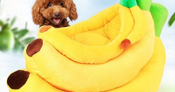 He Pet Cat House Bed Banana Shape Dog House Cute Pet Kennel Nest Warm Dog Sofas Click To Buy Discount Customer Review Pet Kennels Dog Sofa Cat Sleeping