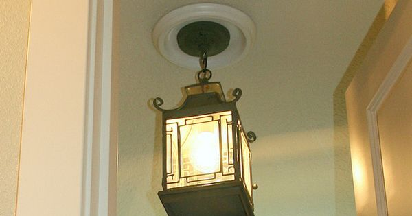 replace recessed light with a pendant fixture can lights recessed. Black Bedroom Furniture Sets. Home Design Ideas