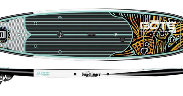 Bote Rackham Bug Slinger Fishing Paddle Board Profile