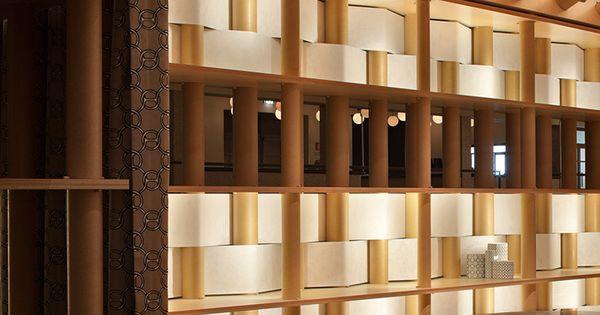 herm s pavillion by shigeru ban and jean de gastines. Black Bedroom Furniture Sets. Home Design Ideas